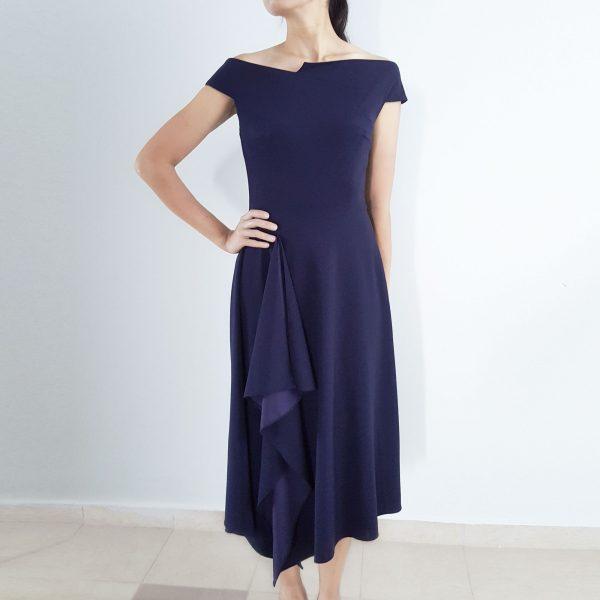 meghan-markle-barwick-navy-cocktail-dress