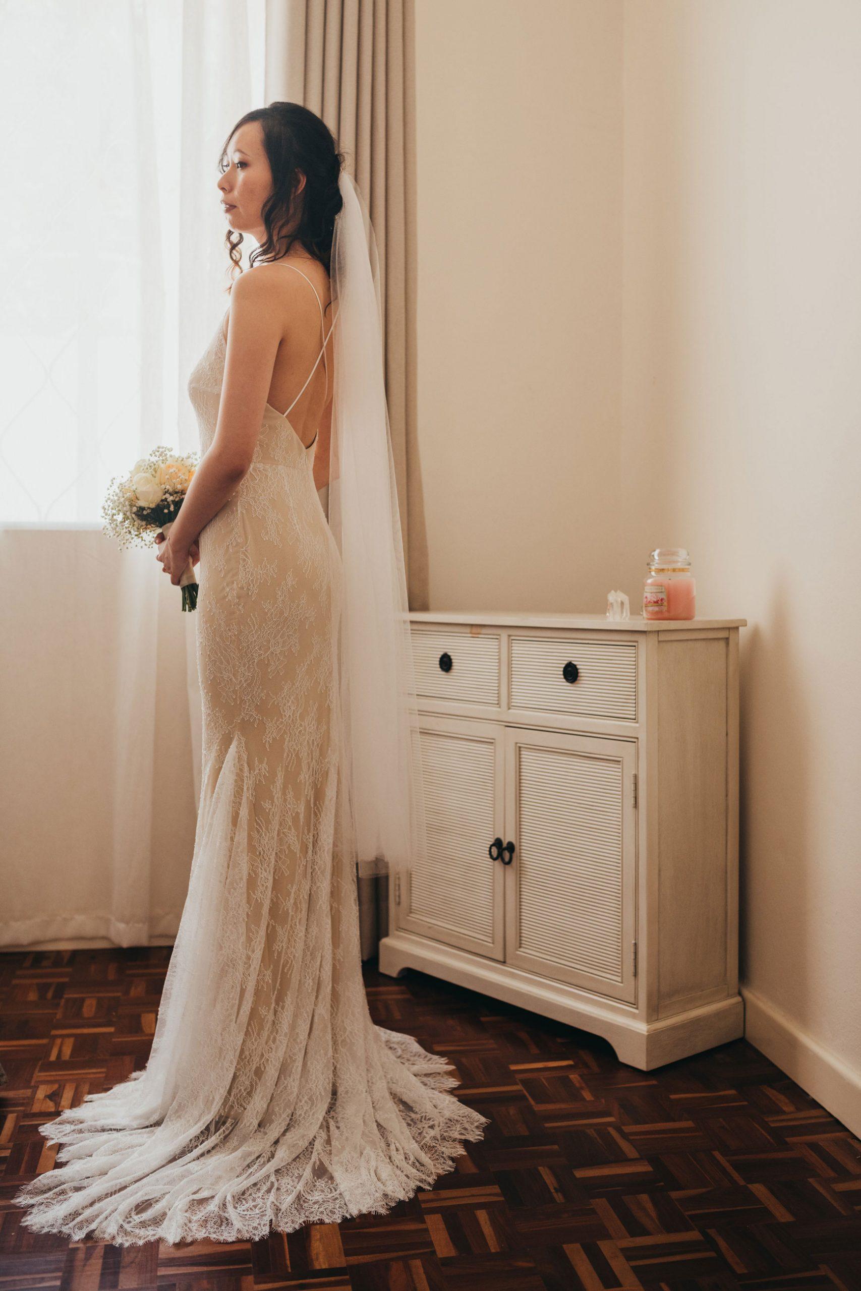 Bohemian Romance gown